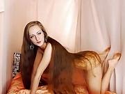 Long Hair Play and Striptease, Long Hair, Hair