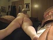 Kim Bates nude. Masturbating in bed.