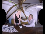 Chubby Big-Titted Samantha Si Begs For VR action
