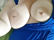 A little titty rubbing