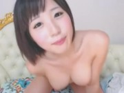 Cute Japanese girl masturbation