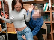Shoplyfter - Ebony Teen Sarah Banks Fucked For Stealing