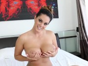 Interview with Alison Tyler about her awesome tits
