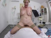 Hairy granny pov fucked by her doctor