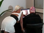 Hot German MILF Sucks Cock Like a PRO and Cum on Big Tits