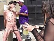 Folsom Street Fair Cock Twirl & Public Humiliation
