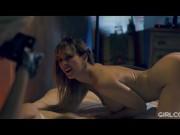 GIRLCORE Glam MILF Cherie DeVille Sits on Kenna James Face