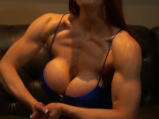 Muscular Aunt Fucks Your Brains Out